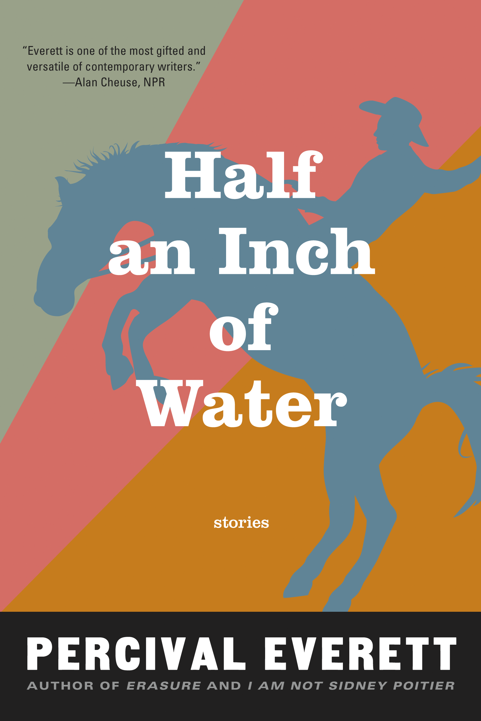 """What is most enchanting about [Half an Inch of Water] is the rumor of magic  constantly on the periphery, the inexplicable that emerges from and then ..."