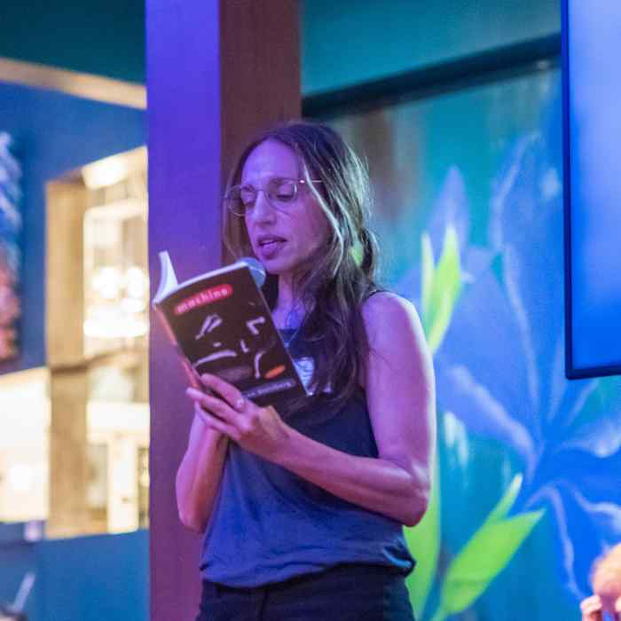 Susan Steinberg reading from her novel Machine