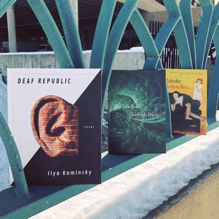 March 2019 titles: Deaf Republic, Silk Road, and Labrador
