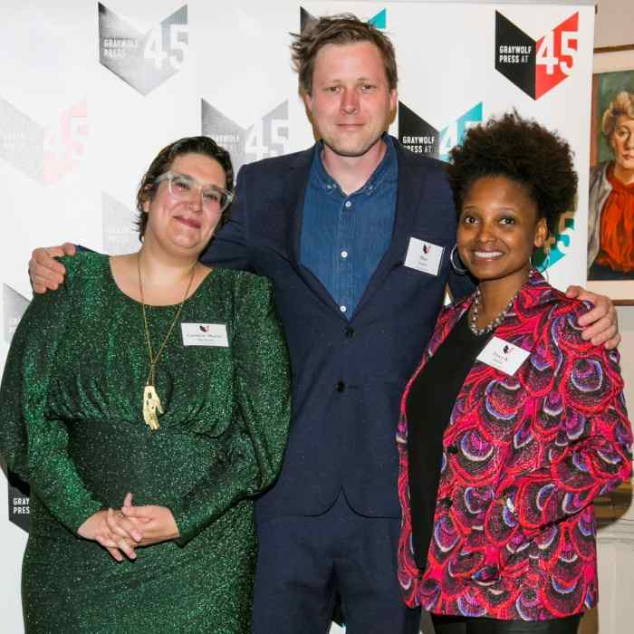 Carmen Maria Machado, Max Porter, and Tracy K. Smith