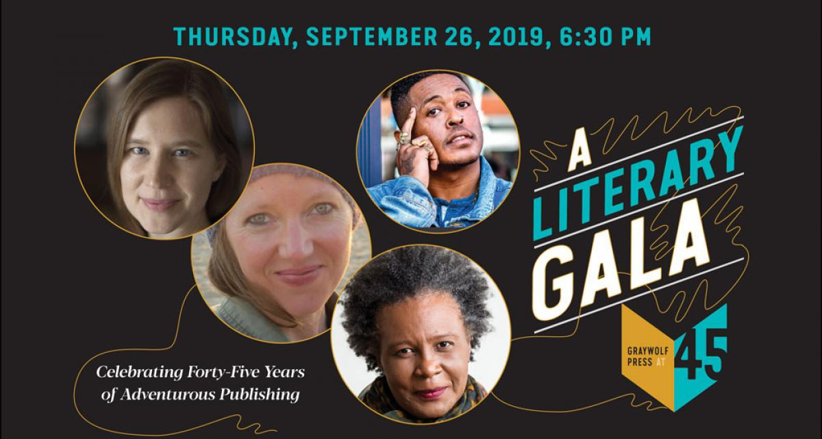 Graywolf at 45 Literary Gala in Minneapolis banner image