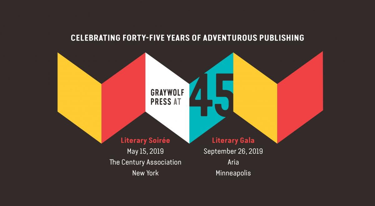 Graywolf Press Celebrates 45 Years