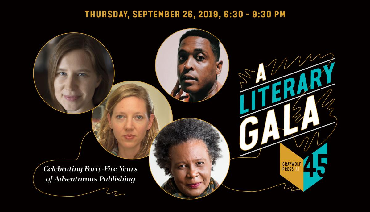 Graywolf at 45 Literary Gala banner image