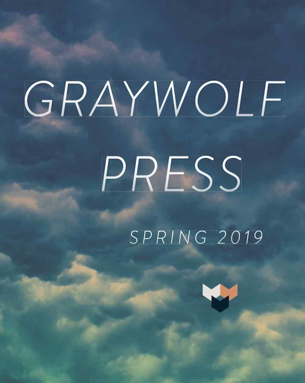Spring 2019 Graywolf Catalog Cover