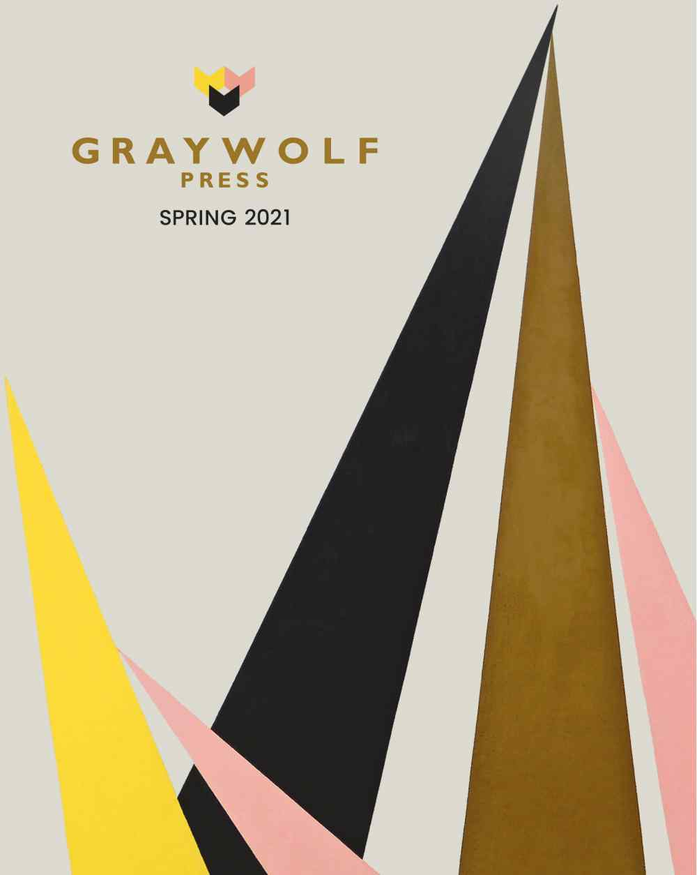 Graywolf Spring 2021 Catalog Cover