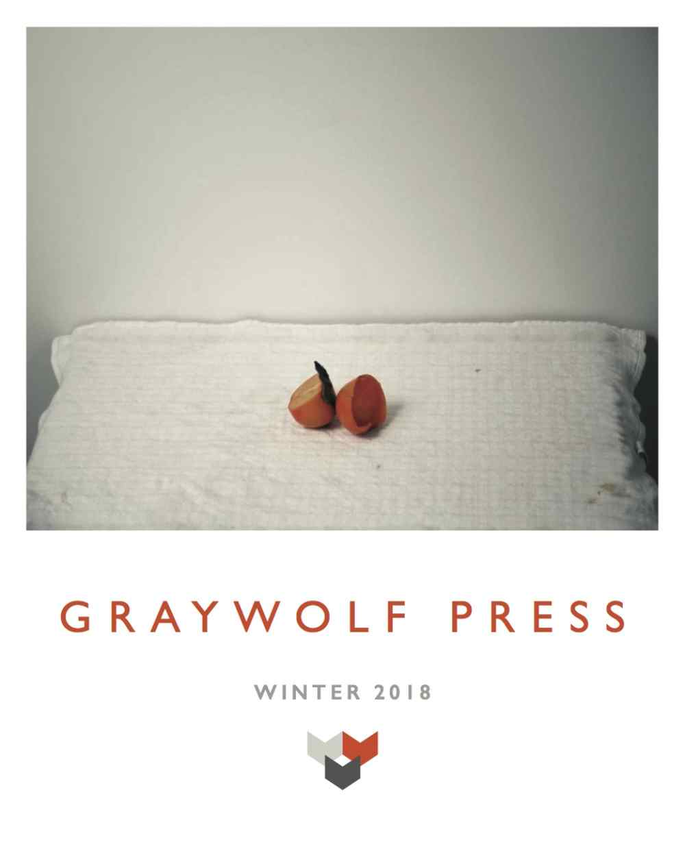Winter 2018 Graywolf Press Catalog Cover