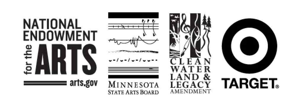 Institutional support logos from NEA, MSAB, and Target