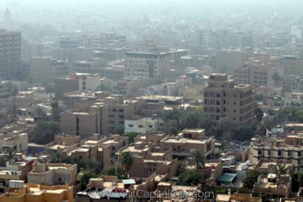Present-day Baghdad