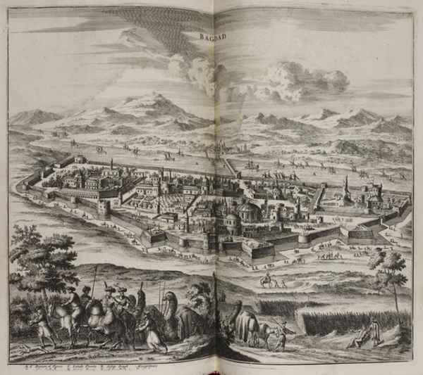 Baghdad in the 17th century, by the Dutch humanist Olfert Dapper (The British Library)