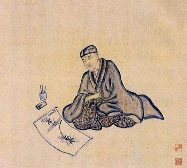 Basho by Sugiyama Sanpu