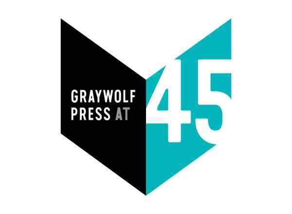Graywolf at 45 logo