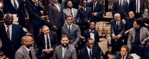 Photo of black male authors included in article
