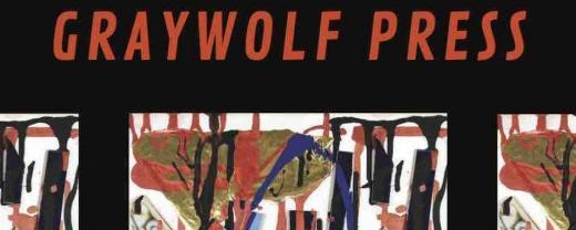 Graywolf Winter 2020 Catalog Cover