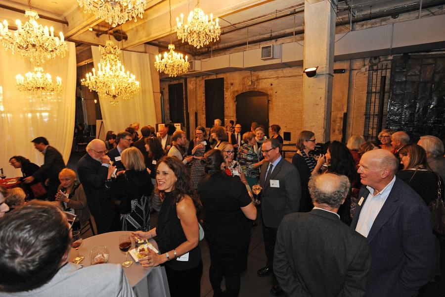 Guests at the 2017 Graywolf Literary Salon VIP reception